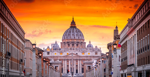 Foto St. Peter Cathedral in Vatican City