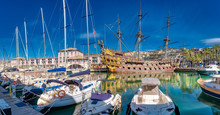 Panorama Of The Old Port, Geno...