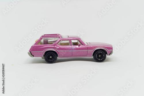Photo  Model starego samochodu kombi ameryka