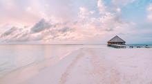 Sunrise In Maldives
