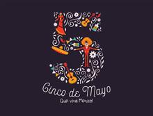 Cinco De Mayo May 5th Card Of Mexican Culture Icon