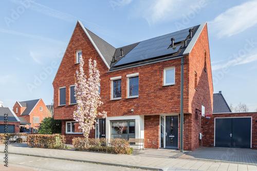 Foto  Modern Dutch housesn