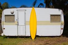 Yellow Board Yellow Caravan