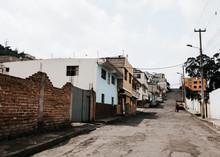 Deserted Street In Ecuador