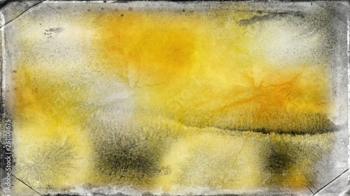 Orange and Grey Grungy Background Image