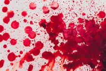 Fresh Human Bright Red Blood O...