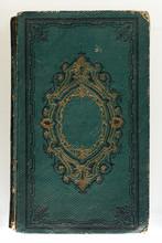 Close-up View At Old Book. Bor...