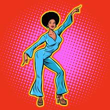 Retro African Disco Dance
