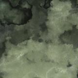 Kolorowy jasny atrament i akwarela tekstury na tle białej księgi. Wycieki farby i efekty ombre. Ręcznie malowane abstrakcyjny obraz. - 261151664