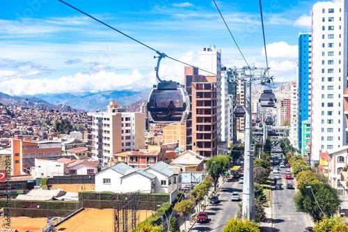 bolivia La paz Transporte teleferico