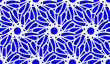 canvas print picture - seamless floral pattern