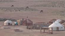 A Wide Shot Of A Scene In Uzbe...