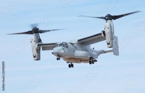 Poster Helicopter Mv-22 Osprey hovering