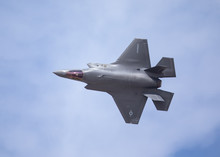 Very Close Top View Of An F-35...