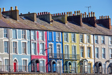 Colorful Row Houses Seen In Wa...