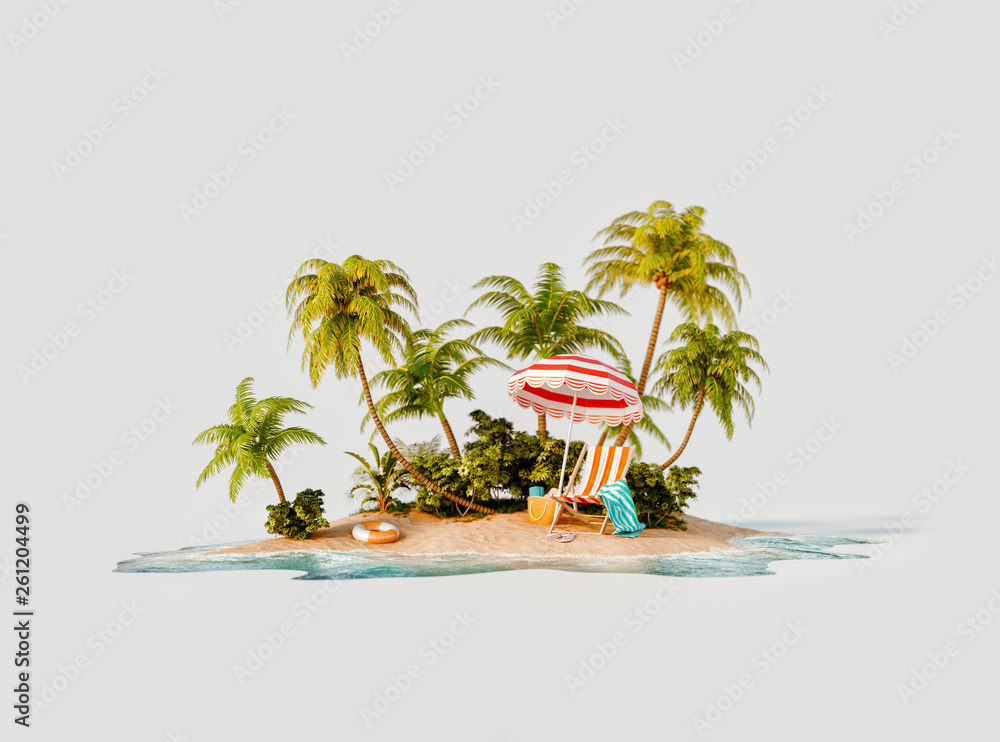 Fototapeta Travel and vacation concept