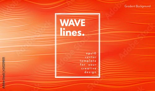 Obraz na plátně  Abstract Wave Background.