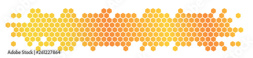 Fotografie, Obraz Honeycomb / hexagons