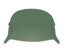 Military Helmet. Vector Illustration