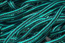 Blue And Black Rope