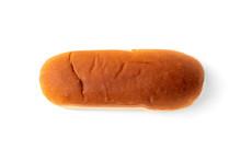 Hot Dog Buns Isolated On White Background.