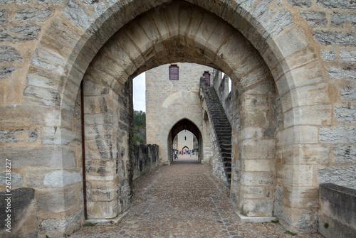 Staande foto Historisch geb. The medieval Pont Valentre over the River Lot, Cahors, The Lot, France