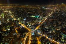 Santiago De Chile De Noche