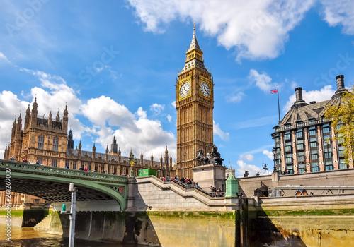 Photo  Big Ben tower, London, UK