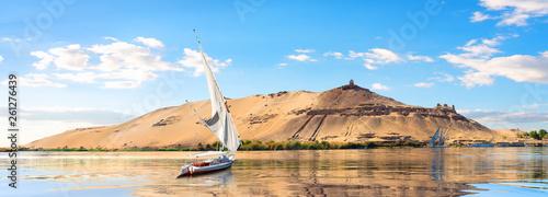 Photo Sailboats in Aswan