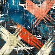 Graffiti grunge texture abstract background illustration