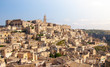 Matera skyline, panoramic view. European capital of culture, south Italy