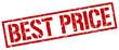 best price red grunge square vintage rubber stamp