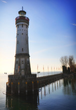 Lindau Lighthouse, Lake Consta...