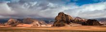 Desert Landscape, Wadi Rum, Jo...