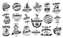 Summer Holidays Badge