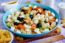 Greek Salad With Fresh Vegetab...