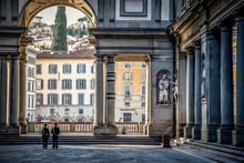Uffizi Gallery. Piazza Degli U...