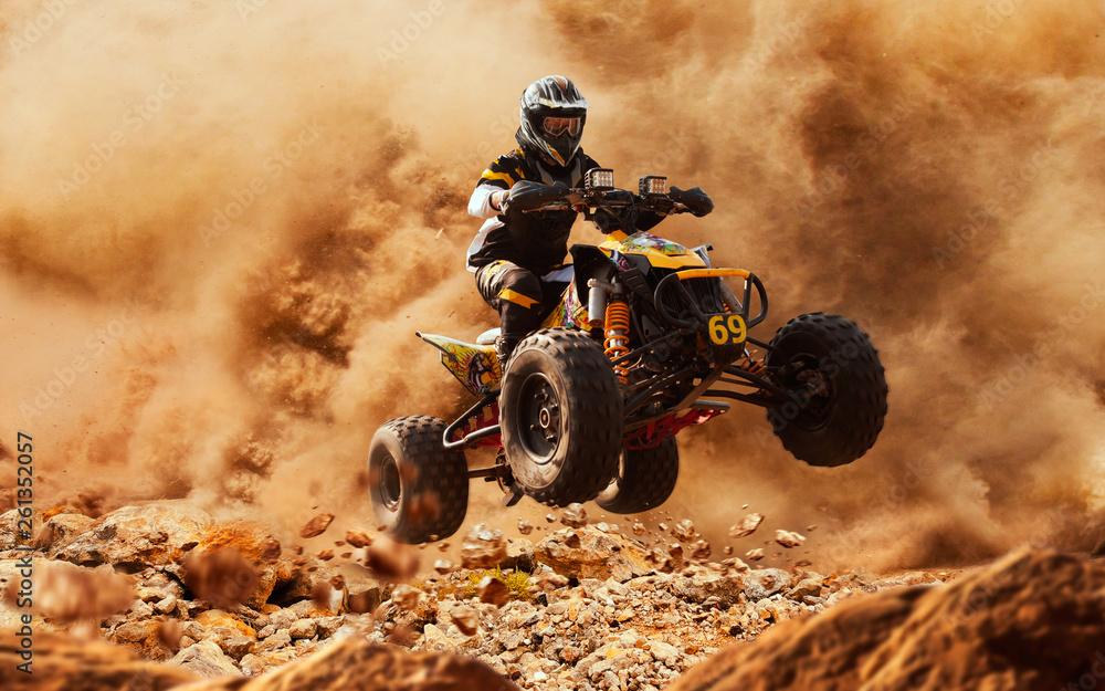 Fototapety, obrazy: quad bike