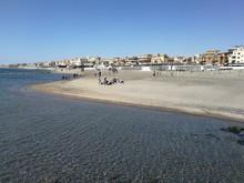 Spiaggia A Ostia Lido