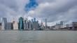 Hyperlapse video of Manhattan skyline and Brooklyn Bridge