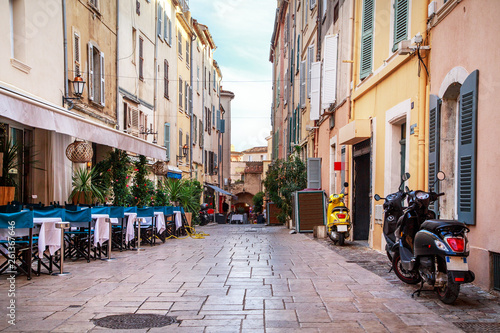 Staande foto Madrid View of Saint Tropez, France