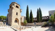 Moni Filerimou Monastery On Mo...
