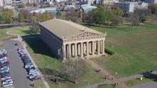 Establishing Aerial Parthenon, Centennial Park, Nashville.