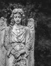Angel Statue In Cemetery, Beau...