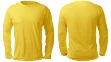 Yellow Long Sleeved Shirt Desi...