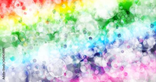 Photo  Seven colors background.Seven colors bokeh background.
