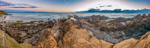 Foto Panorama of dawn at Australia's most Easterly point, Cape Byron, Byron Bay, New