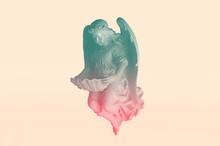 Angelic Cupid Statue - Vintage...