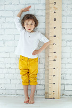 Child Measures Height