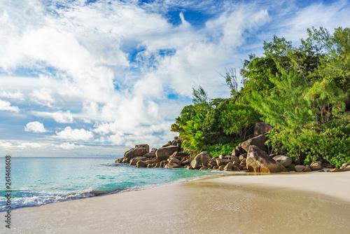 Fotografie, Obraz  sunny day on paradise beach anse georgette,praslin seychelles 57
